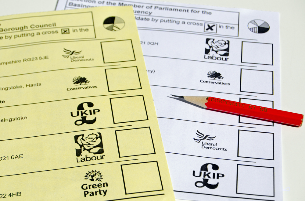 Ballot Papers General Election 2015