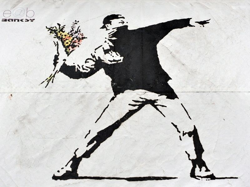 Gaza man mistakenly sells banksy painting for 175 but for Banksy mural sold