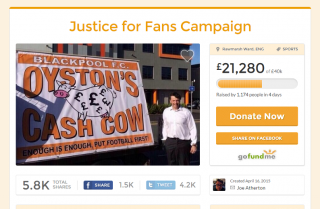 Blackpool Supporter's Fine Paid Through Crowdfunding - Justice Served or Justice Evaded?