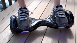 "Warning:""Hoverboards"" Are Illegal to Use on Pavements or Roads"