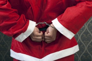 Saint Nick Gets Knicked - Will Santa get a Criminal Record After Glasgow Arrest?